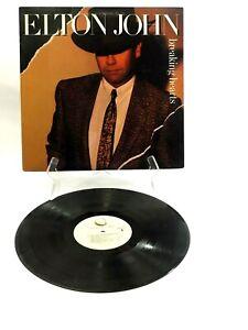 Elton John Breaking Hearts 1984 Vinyl LP Geffen Records GHS 24031