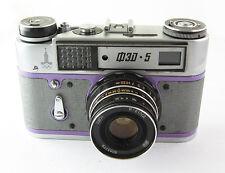 FED 5 Russian Leica Copy Camera  Industar-61LD Lens EXC #030597