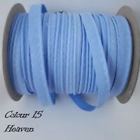 10mm Heaven Cotton Bias Binding Tape Insertion Cord Flanged Rope Piping 2 Meters