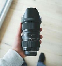 Sigma 18-35mm f/1.8 DC HSM Art per Nikon, Obbietvo usato