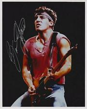 BRUCE SPRINGSTEEN AUTOGRAPHED 8X10 COLOR PHOTO REPRINT (FREE SHIPPING)*