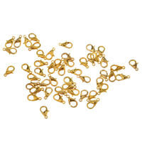 7.5mm 200 Gold Plated Calottes Beads Tips K6731