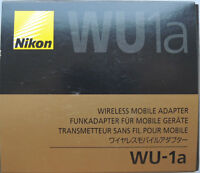 Nikon WU-1a Wireless Mobile Adapter for D7100.D5200,D3200, coolpix A,P520 n P330