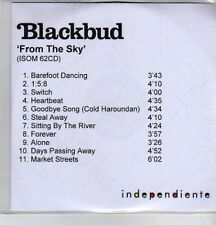 (DE539) Blackbud, From The Sky - DJ CD