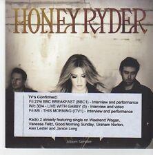 (EB459) Honey Ryder, Marley's Chains sampler - 2012 DJ CD