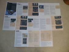 Sansui Brochure, BA-5000,3000 Amps, CA-3000 Pre, Power Amp, Pre Amp 13 pgs