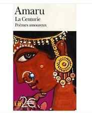 LIVRE NEUF Gallimard Folio Amaru La Centurie Poèmes amoureux