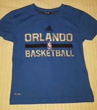 EUC Orlando Magic Boys adidas Dri Fit Climalite Shirt Size Small - FREE SHIPPING