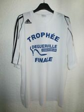 Maillots de football blancs adidas taille XL