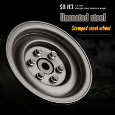 Gmade 1/10 SCALE TRUCK RIMS 1.9 STEEL STAMP Beadlock Wheels UNCOATED  #GM70187