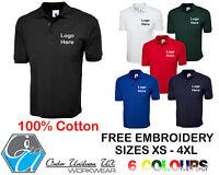 Beta Tools 7546BL Size XS-XXXL Three Button Polo Shirt Blue Workwear