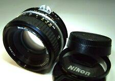 Nikon 50mm f1.8 Ai manual focus Prime lens Nikkor