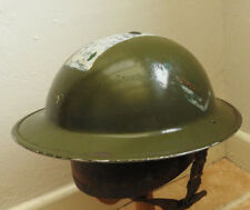 Military British WW2 Brodie Helmet Home Guard Converted Warden Sergeant (5223)