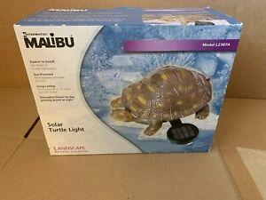Intermatic Malibu Solar Turtle Light LZ307A NEW IN BOX!! (See Detail in Listing)