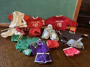 1960's Johnny Hero Uniforms Lot