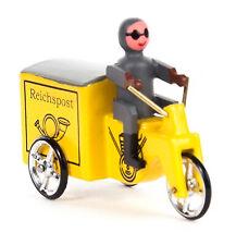 Miniaturfahrzeug Miniatur-Dreirad Reichspost Yellow Bxhxt 1 25/32x1