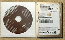 DELL WINDOWS 7 PROFESSIONAL 32 bit SP1 RESTORE CD DVD w/ Hard Drive Option