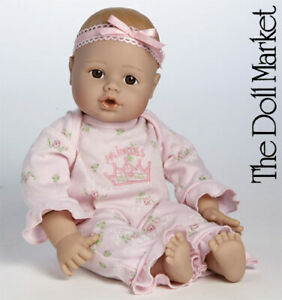 """Adora 13"""" PlayTime Baby Little Princess #20959 with Brown Eyes - New in Box"""