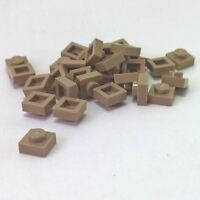 30 NEW LEGO Plate 1 x 1 Dark Tan