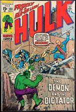 THE INCREDIBLE HULK COMIC #133 (MARVEL,1970) BRONZE AGE ~