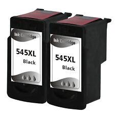 2x Druckerpatronen für Canon PG-545 XL BLACK Pixma MG2555 MG2950 MX490 MX495 Set