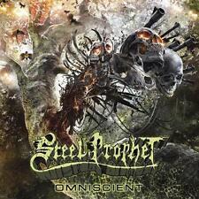 Steel Prophet - Omniscient CD 2014 limited digibook power metal Cruz del Sur