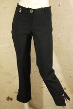 COP.COPINE Taille 36  Superbe pantalon noir femme modèle GRAVIER trousers pants