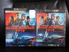 Blade Runner 2049 4K UHD Blu-Ray Digital HD New Sealed w/Slip Region Free Action