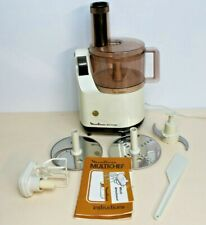 VINTAGE MOULINEX MULTI CHEF 588 FOOD PROCESSOR  + Whisk Attachment