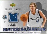 2006-07 Upper Deck Rookie Debut Materialization #DN Dirk Nowitzki Jersey