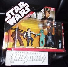 2007  STAR WARS. UNLEASHED BATTLE PACK.TROUBLE ON TATHOOINE .CANTINA ENCOUNTER.