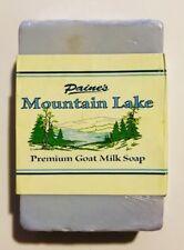 Paine's MOUNTAIN LAKE  Premium Goat Milk Soap 4.5 oz bar Maine made all natural