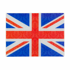 Union Jack Flag Tempered Glass Worktop Saver Chopping Food Serving Cutting Board