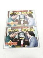 Vol 1and2 50s & 60s Rock 'N Roll Cassette Tapes The Platters Four Seasons & more