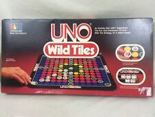 COMPLETE 1982 Uno Wild Tiles Board Game By International Games Incorprotated