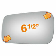 New Flat Driver Side Replacement Mirror Glass For 1988-1993 VW Golf