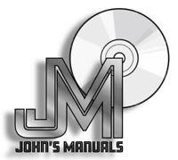 JCB 2D Excavator PDF Service Work Shop Repair Manual DVD