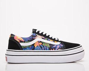 Vans ComfyCush Old Skool Black Unisex Lifestyle Shoes Casual Athletic Sneakers
