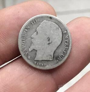 50 centimes napoleon 1860 Bb Abeille Cent