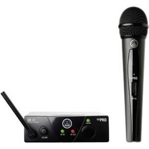 AKG WMS40Mini Vocal Set ISM3 Funkmikrofon-Set Übertragungsart (Details):Funk