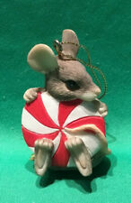 Charming Tails Christmas Ornament - Peppermint Party - #87/314 retired