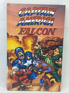 Captain America And Falcon The Swine SC GN TPB/Jack Kirby/Marvel RARE Hardcover