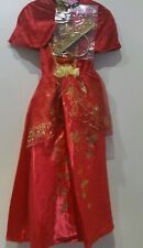 BNWT Disney Beauty And The Beast Princess Belle Dress Out Fit Costume For Girls