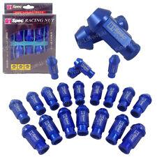 BLUE JDM WHEEL LUG NUT FOR HONDA ACURA INTEGRA M12X1.5MM 20PCS L:50MM