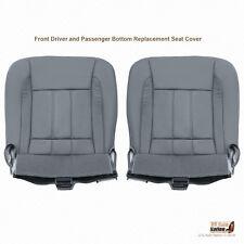 2009 Dodge Ram 2500 3500 4500 Laramie Driver-Passenger Bottoms Leather CoverGRAY