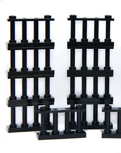 LEGO fence barrier spindled 2x4 (pack of 8) knight's castle bars prison *