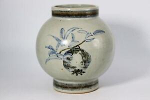 Korean Joseon Antique white Vase porcelain KRS38