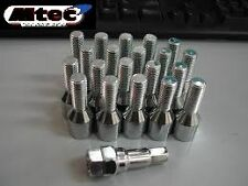 20x BMW Tuner Wheel Bolts M12x1.5 40mm Thread Length