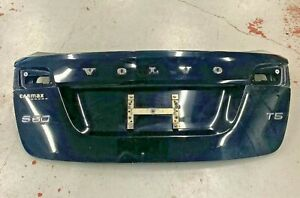 VOLVO S60 2011 2012 2013 2014 2015 TRUNK LID BLACK SOLID 019 REAR TAILGATE