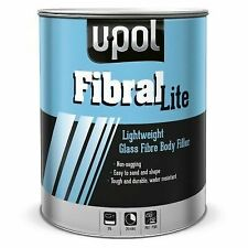 Upol Fibral Lite Fibreglass Nikki 3lt.  Lightweight Fibreglass Filler/Bog.